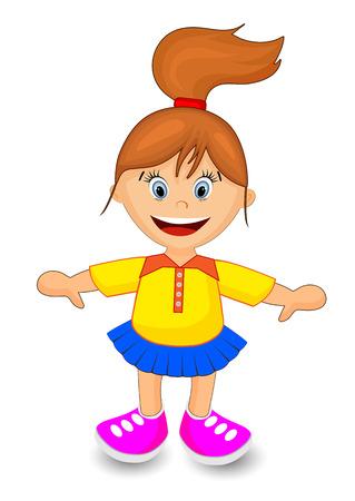 Happy niña