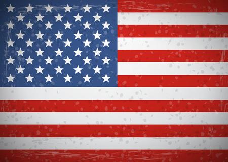 american flags: Vintage American flag