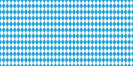 wiesn: Seamless Oktoberfest blue background