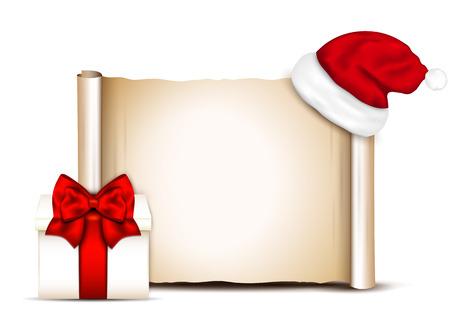 blank banner: Christmas banners on white background.  Illustration
