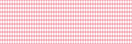 valentin: Pink rhombus valentin  seamless background. Vector illustration. Illustration