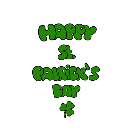 st  patrick's day: St. Patricks Day greeting. Saint Patricks Day typographical background