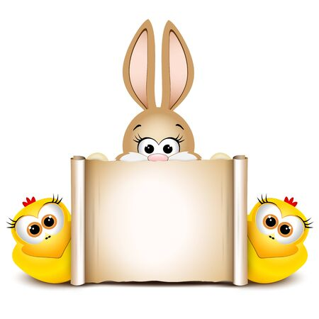 Easter Card Design Template Easter Funny Bunny Happy Easter