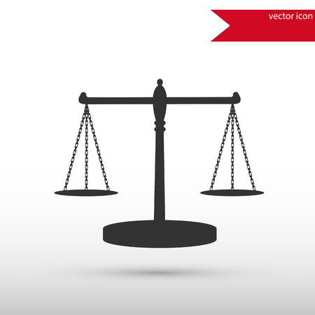 conviction: Scales of Justice. Black icon vector and jpg. Flat style object. Art picture drawing.   Elements for your design. Web icons.