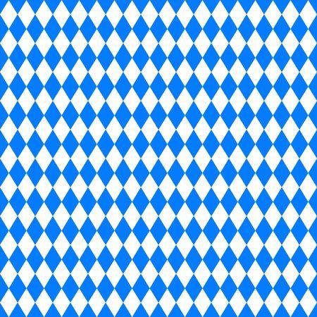 wiesn: Oktoberfest blue background. Vector illustration. Blue background