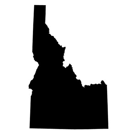 米国状態のアイダホ州の地図 写真素材 - 70049948