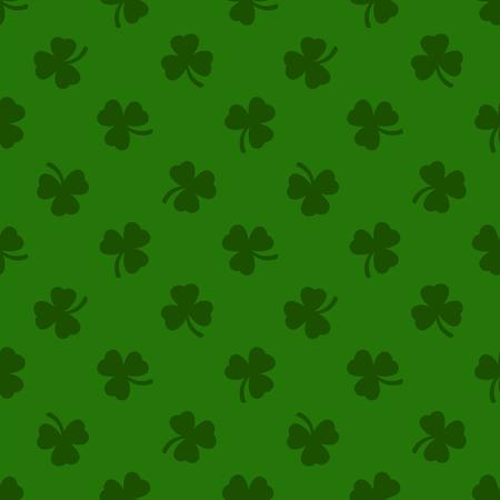 patrik: Clover leaves background. St. Patrick day background. Illustration