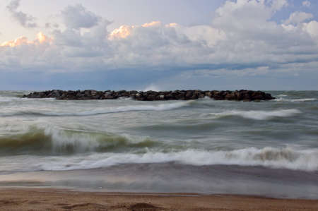 erie: Lake Erie waves