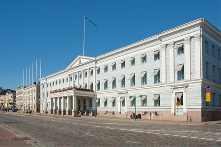 local government: City Hall in the centre of Helsinki, Finland.