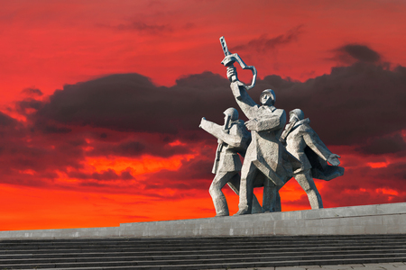 World War II Victory Monument to Soviet Army in Riga