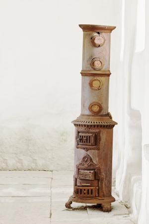stoves: Vintage stove Stock Photo