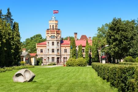 sigulda: Sigulda Town Council in 19-th century castle, Latvia