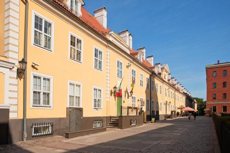 longest: Jacobs barracks - the longest building in Riga