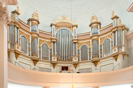 Organ of Helsinki Cathedral Editorial