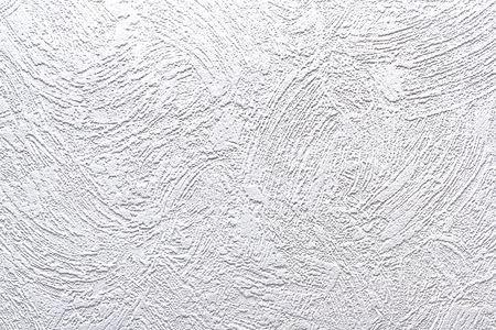 gravelly: Closeup of textured white wall  Stock Photo