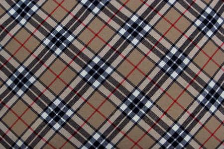 woolen cloth: Closeup of striped woolen cloth Stock Photo