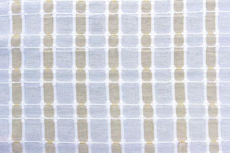 tela algodon: Closeup de tela de algod�n a rayas