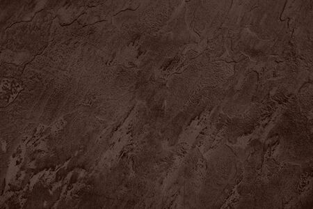 Close up of abstract dark brown stone texture with high resolution. Stockfoto - 129462162