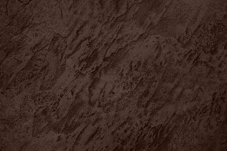 Close up of abstract dark brown stone texture with high resolution. Stockfoto - 129462150