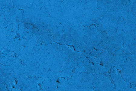 Elegant navy blue colored dark Concrete textured cool grunge abstract background with roughness and irregularities. 2021 color trend concept.