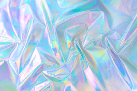 pastel colored holographic background in 80s style
