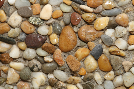 Color stones background