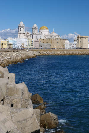 The coast of Cadiz  Spain  photo