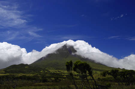 The highest peak of Portugal, Pico island