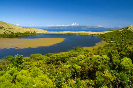 Lake Sant Jorge  Pico island, Azores Stock Photo - 16024601