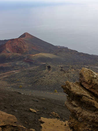 Volcano Teneguia, La Palma, Canary island Stock Photo - 16833882