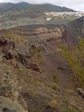 Volcano Teneguia, La Palma, Canary island