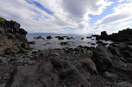 erratic: The small creek, Prainha village, Pico island, Azores