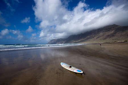 lanzarote: Playa de Famara, Lanzarote island