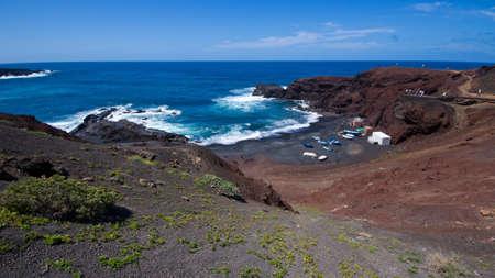 golfo: El Golfo, Lanzarote, Canary Islands, Spain