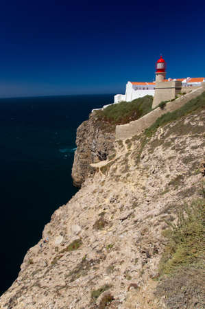 Cape of St  Vincent  Cabo de Saint Vicente  is the southwesternmost point of Europe  Located in the Algarve, Portugal  photo