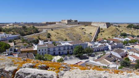 forte: Forte de Sao Sebastiao in old town of Castro Marim, Algarve, Portugal