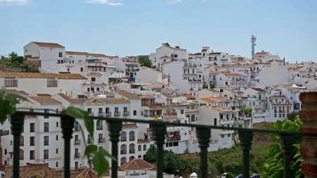 Spanish white village of Frigiliana, Andalucia, Malaga Province photo