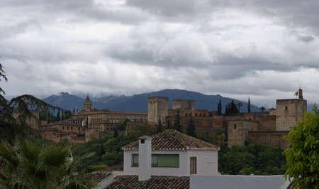 The Alhambra in Granada city, Andalucia, Spain photo