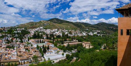 The Granada city, Andalucia, Spain photo