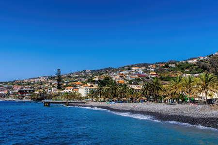 Santa Cruz Village on Madeira island, Portugal  Standard-Bild