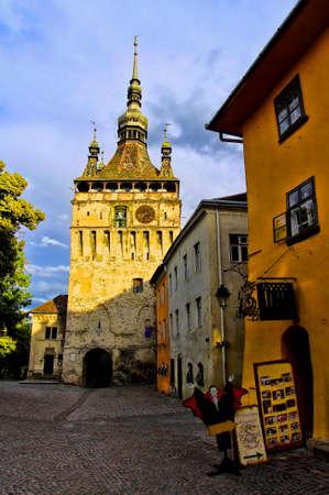 Sighisoara - the town where Vlad Tepes-Draculea was born  Transylvania, Romania Editorial