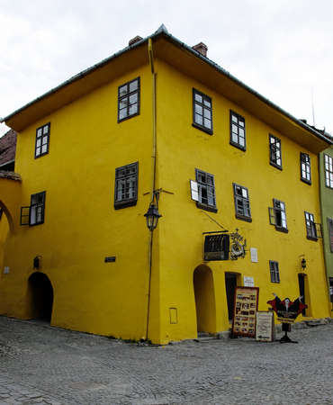 Sighisoara, The house where Vlad Tepes-Draculea was born  Transylvania, Romania