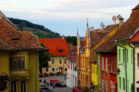 Sighisoara - the town where Vlad Tepes-Draculea was born  Transylvania, Romania