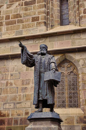 johannes: Johannes Honterus Statue in Brasov, Romania  He was a renaissance humanist, theologian and the main Lutheran reformer in Transylvania