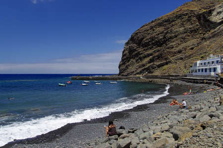Playa de Alojera, La Gomera, Canary Island, Spain