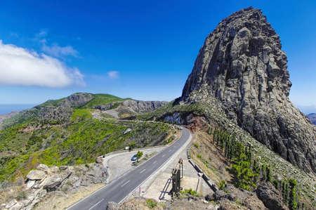 cano: La Gomera - Roque El Cano, La Gomera, Canary island, Spain