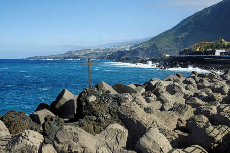 natural pool: Natural pool in Garachico, Tenerife Island, Canary, Spain
