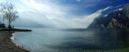 lago: The Lago Di Garda, Italy.