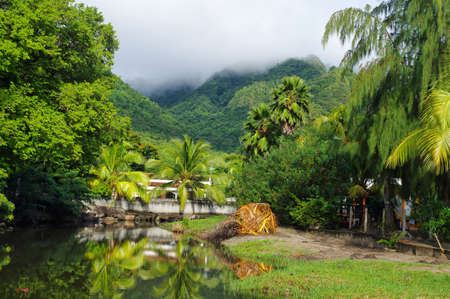 Grande Anse d'Arlet - Martinique - Caribbean island.