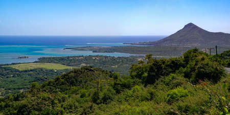 Le morne Tamarin Viewpoint located in the Black River Gorges National Park, Mauritius